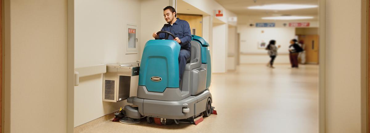 macchine professionali per la pulizia di ospedali e ambulatori sanitari
