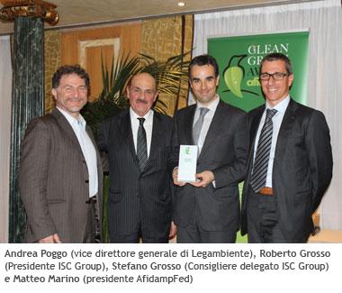 clean green orbio premiazione