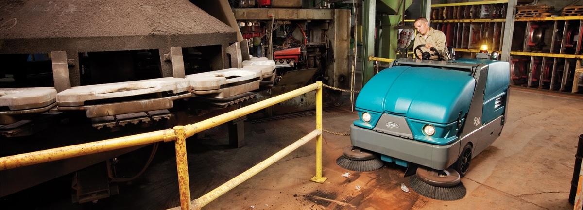 macchine professionali per la pulizia industriale