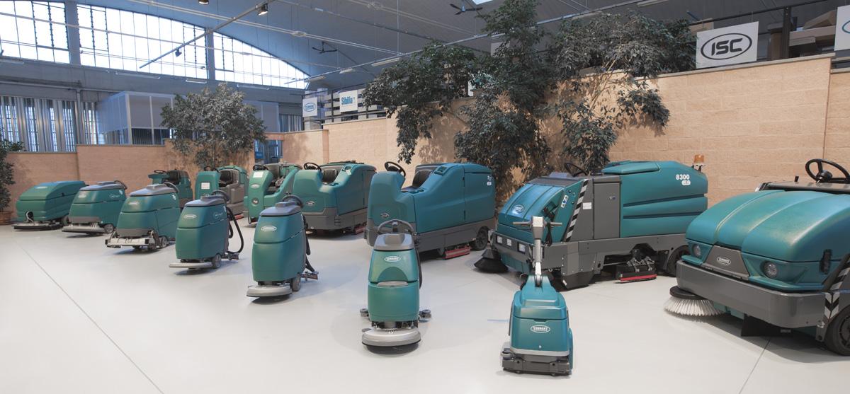 Macchine per la pulizia - Il Gruppo ISC