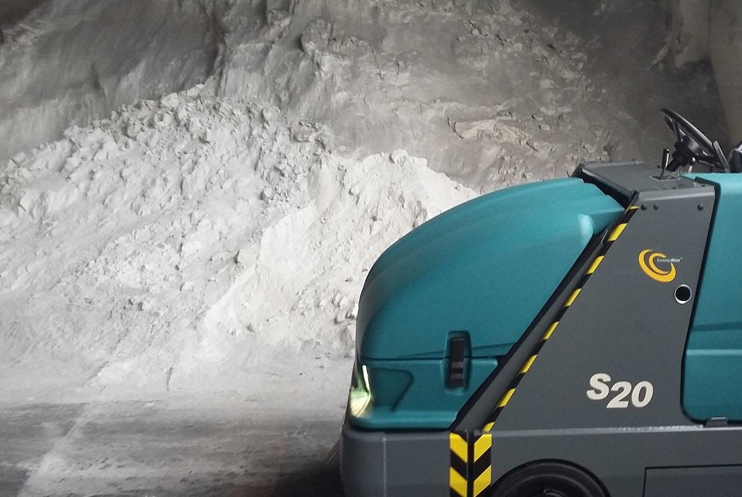 Tennant S20 in miniera