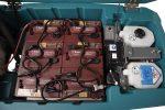Dettaglio della batteria Tennant T600