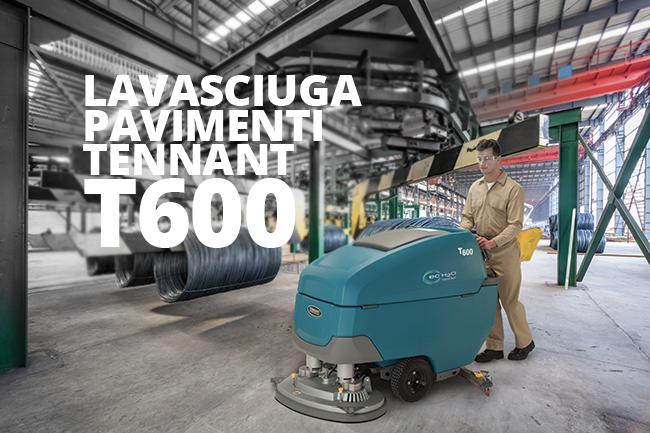 Lavasciuga pavimenti Tennant T600