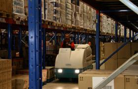 Macchine per la pulizia di Magazzini e Depositi logistica.