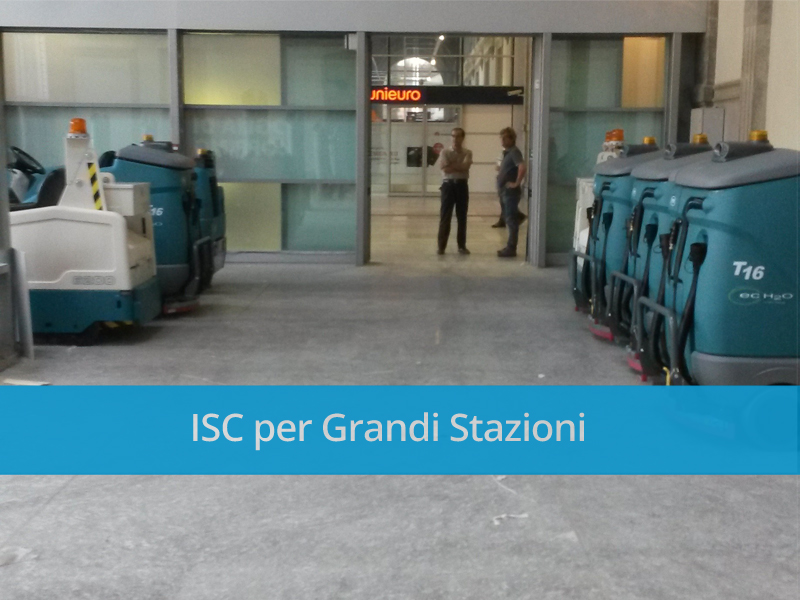 Macchine lavapavimenti a Torino Porta Nuova